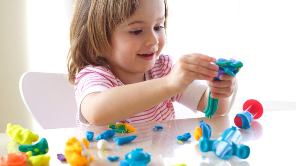 Plastelina dezvoltă creierul copilului