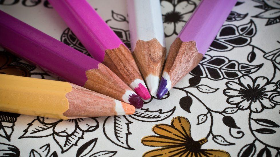 Carti de colorat pentru adulti antistres pentru timpul liber