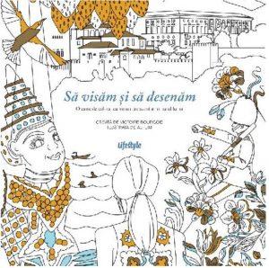Cărți de colorat pentru adulți antistres-destinații de vis de colorat