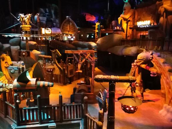 Motion gate Dubai, pavilionul Dragonilor