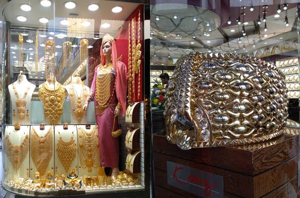 Dubai Souk, piața de aur