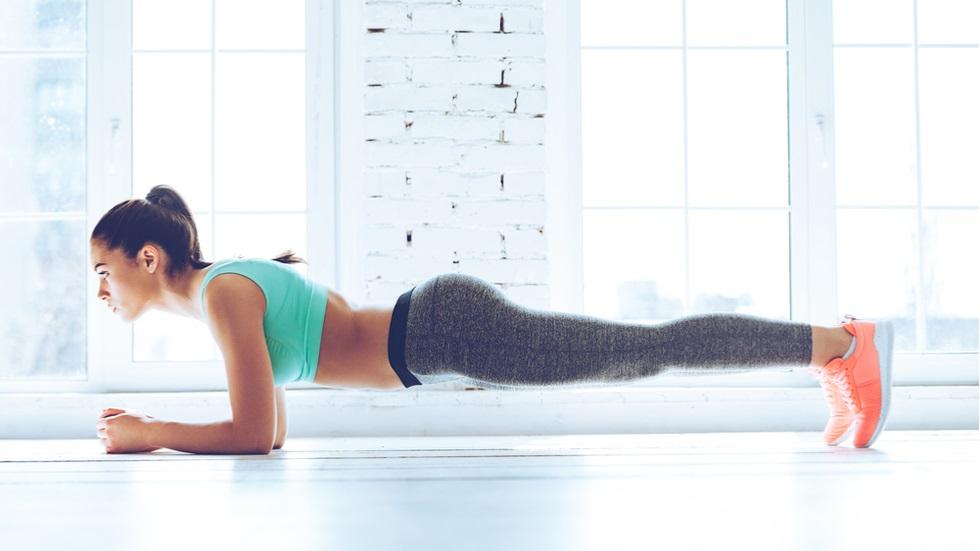 Exercițiu abdomen plat