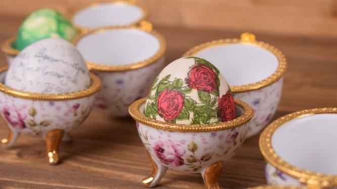 decorațiuni de paște-ouă ornamentate