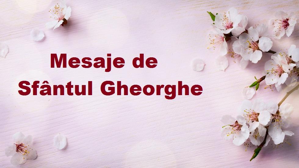 mesaje de Sfântul Gheorghe