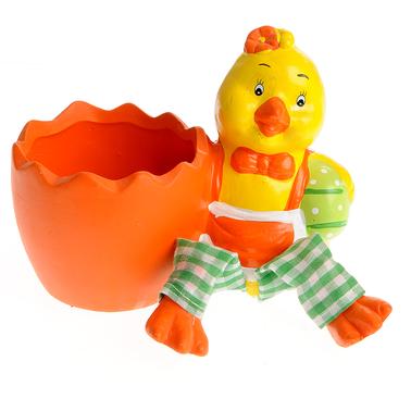 Decorațiuni de Paște-suport ou găină colorată