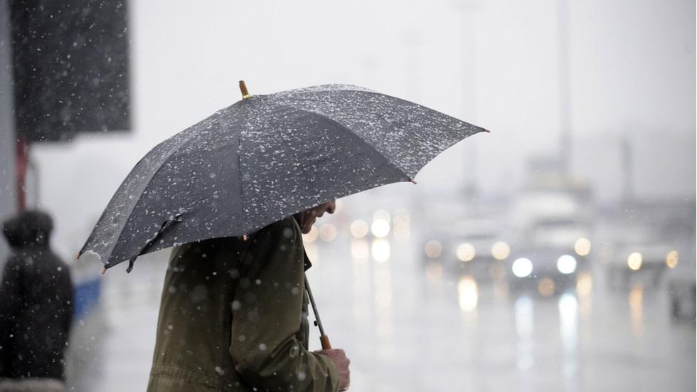 Cod galben de ploi abundente și grindină