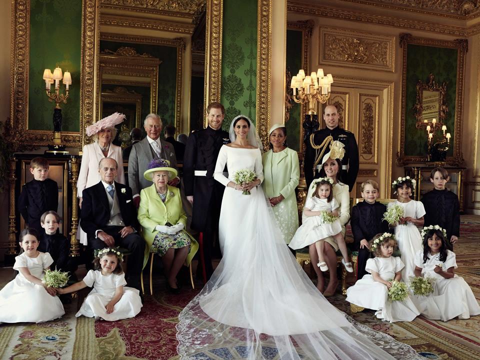 Cum Arată Primele Imagini Oficiale De La Nunta Prințului Harry Cu