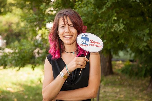 Madalina Rapanu - General Manager BluParty