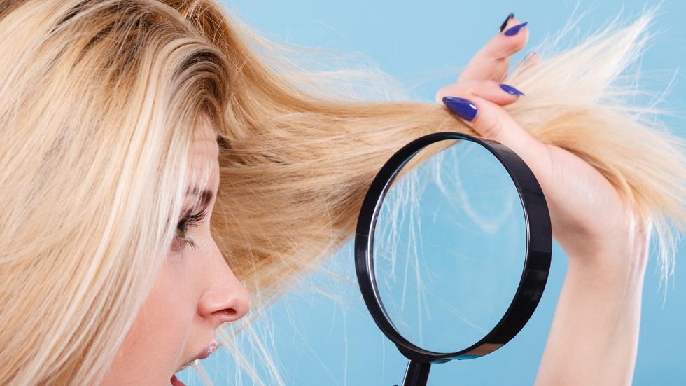 5 semne ale părului deteriorat