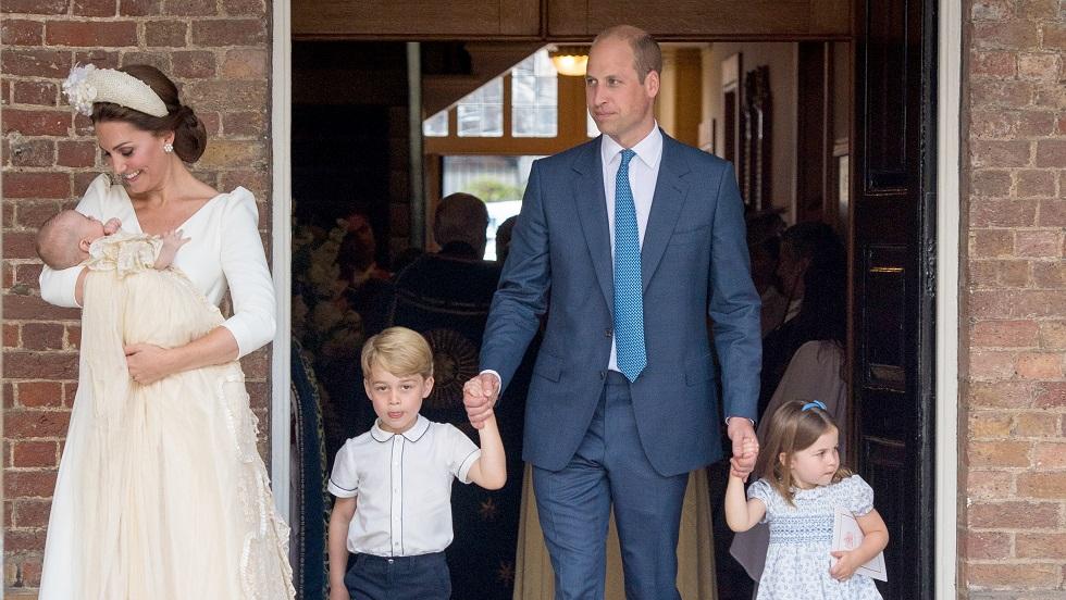 Fotografiile oficiale de la botezul prințului Louis