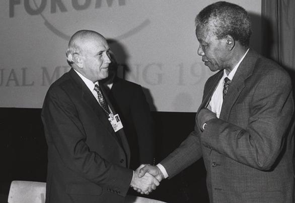 Nelson Mandela și Frederik de Klerk