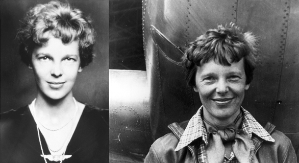 Personalitățile născute în Zodia Leului pe 24 iulie, Amelia Earhart