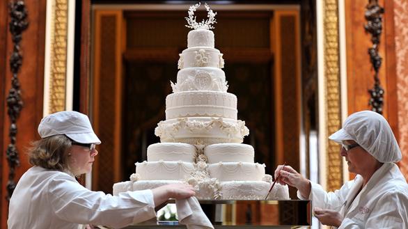 Rețeta tortului de nuntă al lui Kate Middleton și William