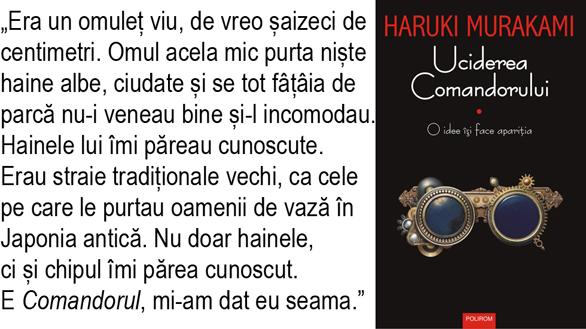 Uciderea Comandorului, Haruki Murakami, Polirom