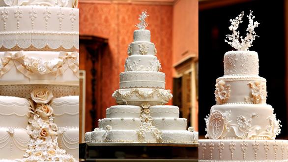 Un tort vechi de 7 ani a fost servit la botezul Prințului Louis