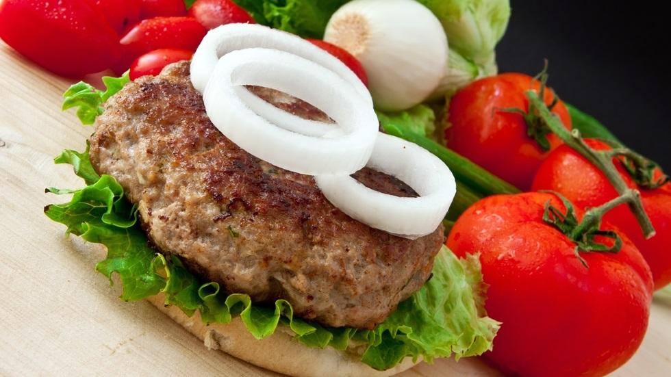 burger de vită cu puţine calorii