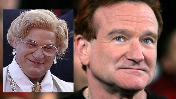 Personalitățile născute în Zodia Racului pe 21 iulie, Robin Williams, Mrs. Doubtfire
