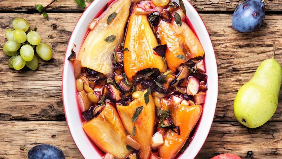 cum prepari cea mai gustoasă salată de ardei copți