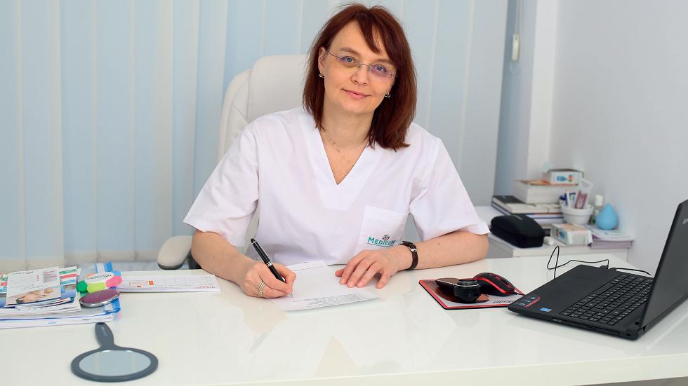 dr. Diana Plăcintescu, medic primar dermato-venerolog