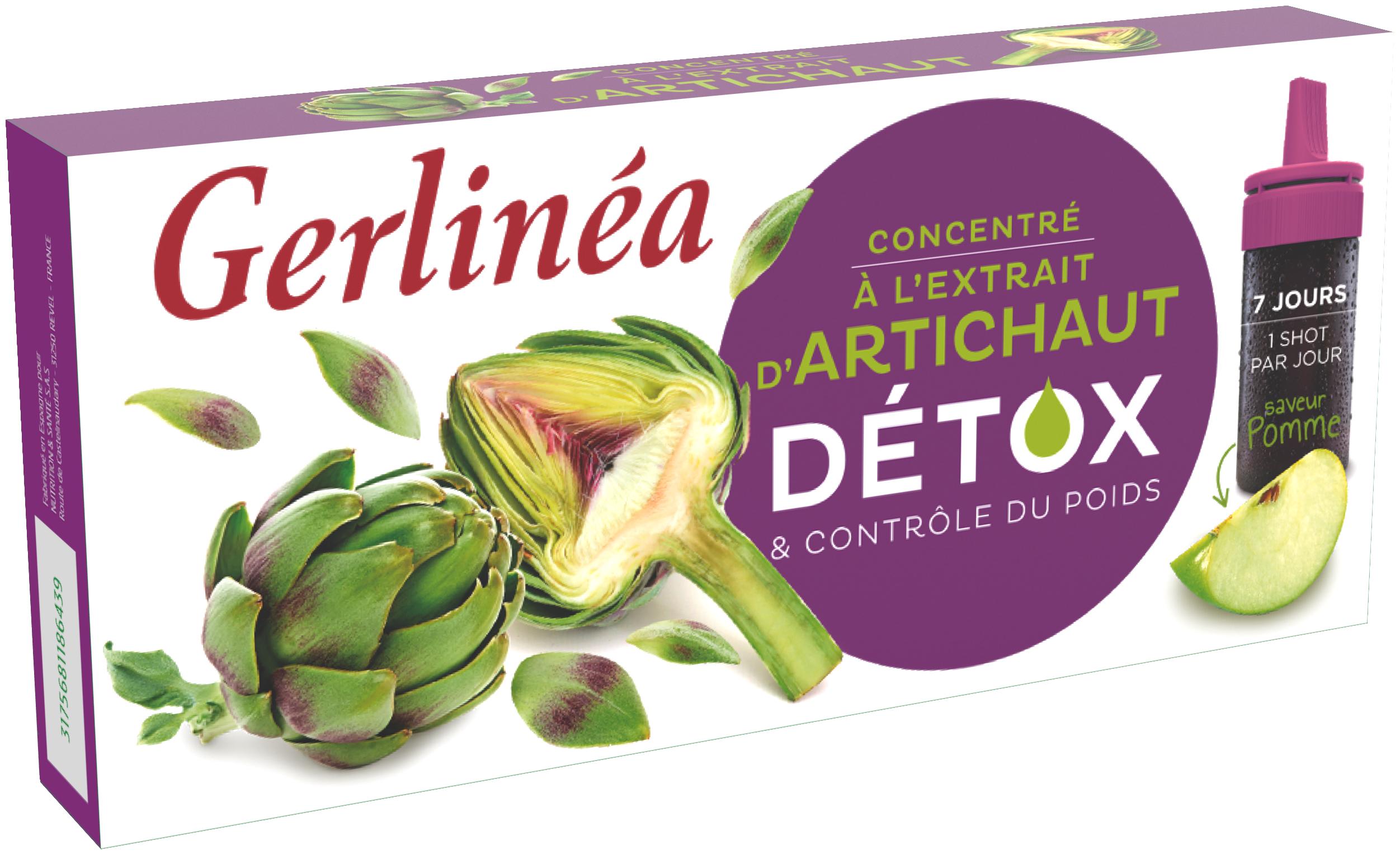 Gerlin+ęa Extras de anghinare Detoxifiant