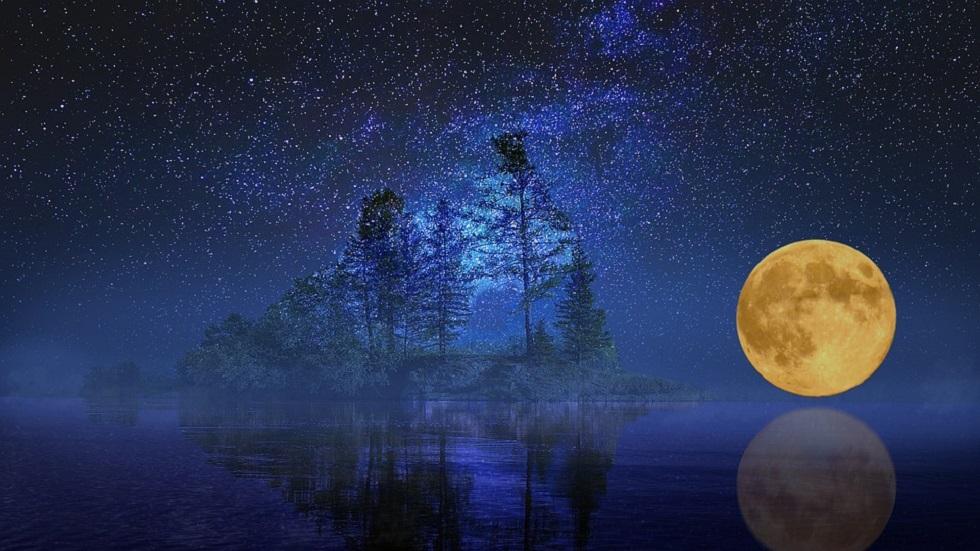 Luna Plină în Berbec