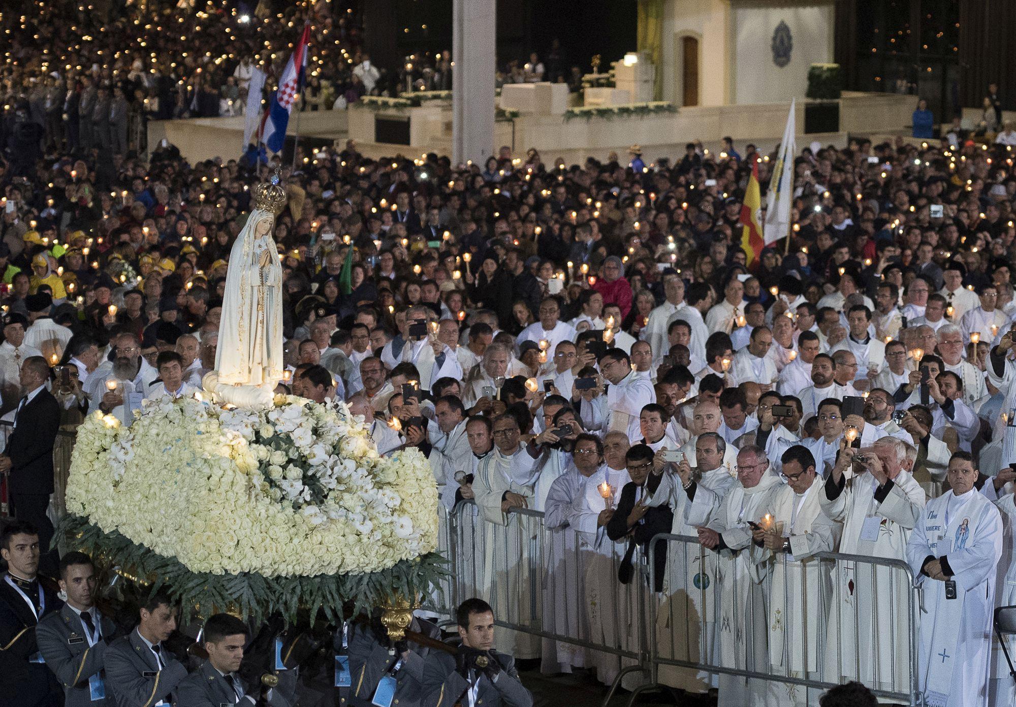 Pope Francis in Fatima - Portugal