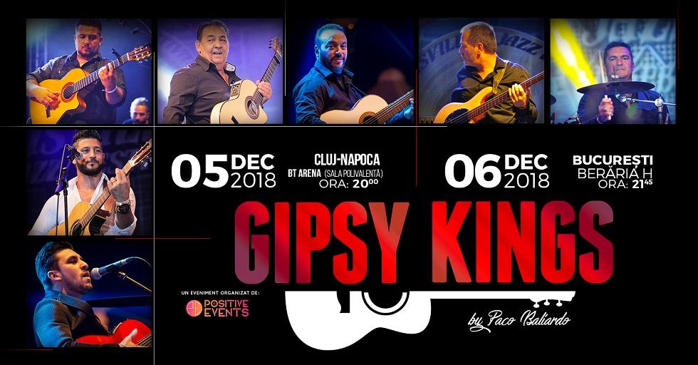 Gipsy Kings vin în România