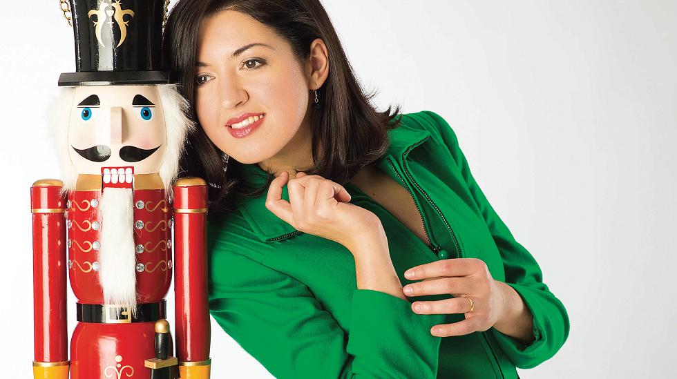 Pianista Alexandra Dariescu reinventează Spărgătorul de nuci