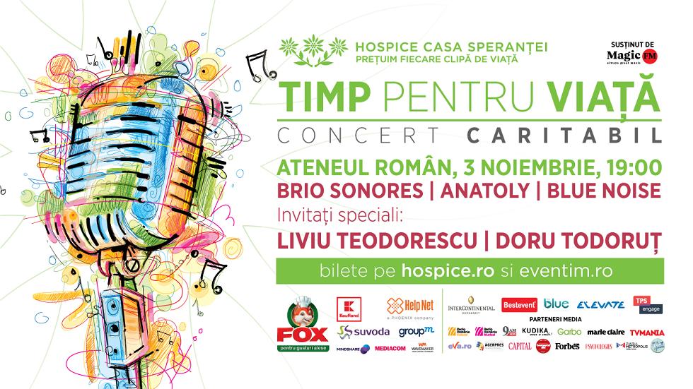concert caritabil Hospice Casa Sperantei