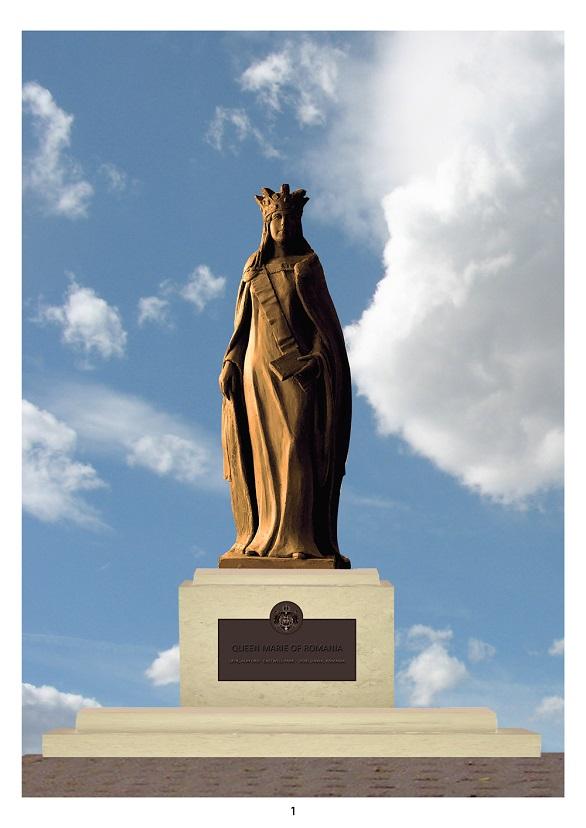 ICR dezvelește o statuie a Reginei în locul său de naștere, Ashford, UK (2)