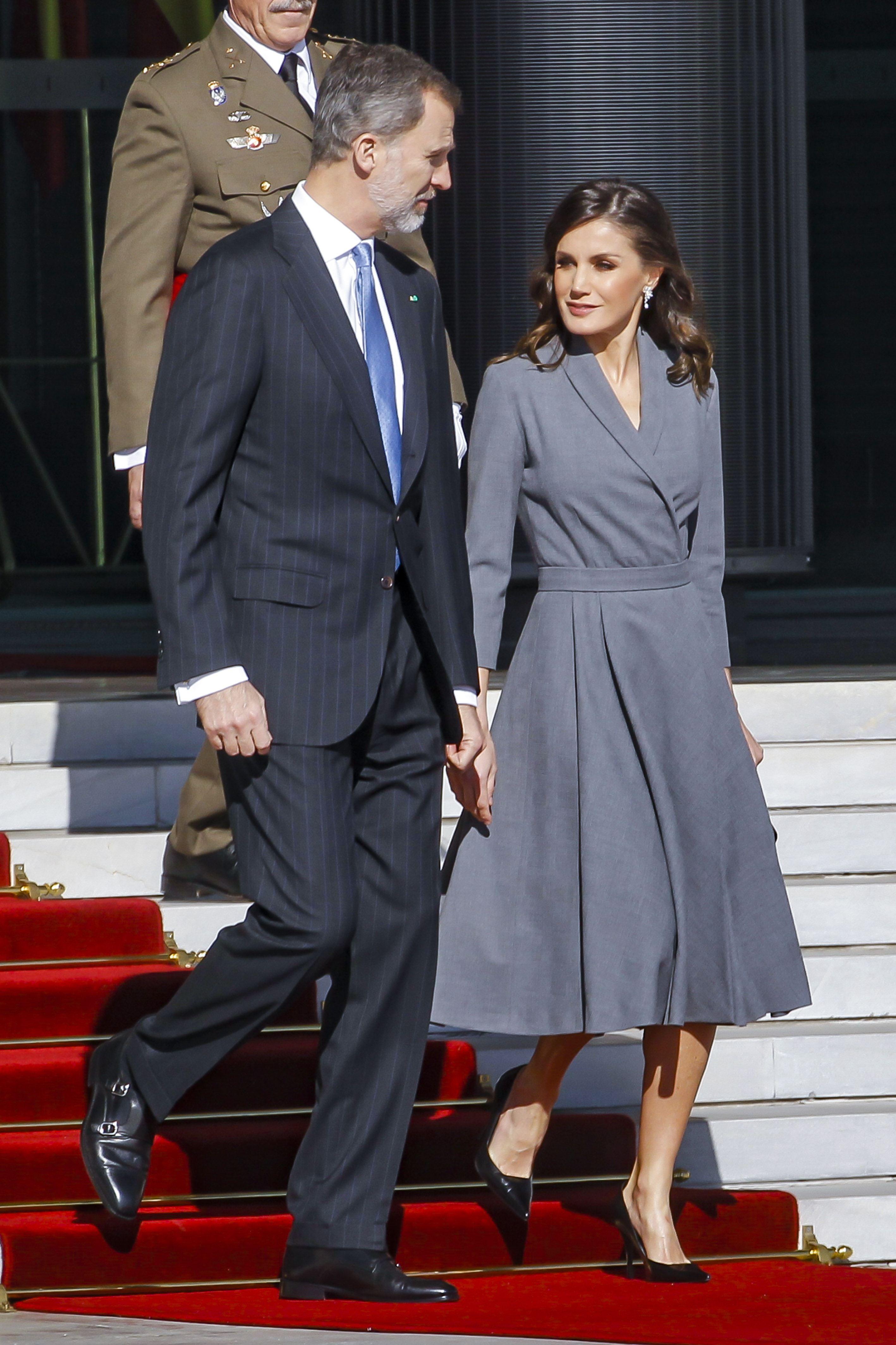 Regina Letizia a Spaniei Maroc
