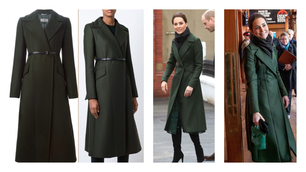 Ducesa de Cambridge palton