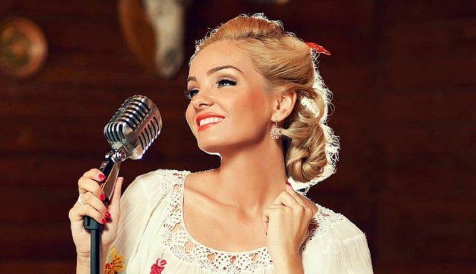 Maria Constantin la 32 de ani