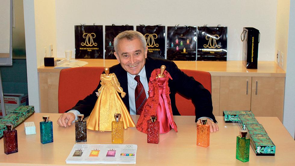 Nicolas Dănilă, creatorul primului parfum din lume fără alergeni