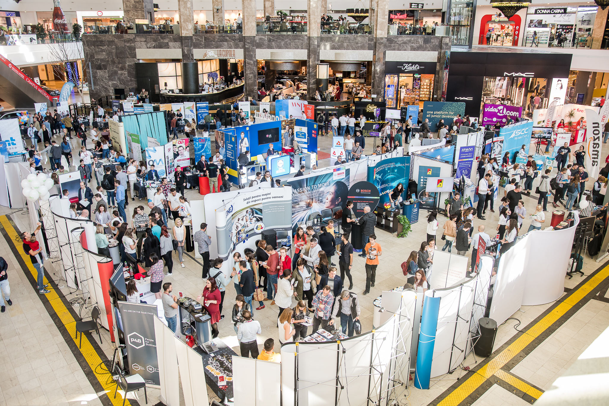 Târgul de Cariere reîncepe ediția de primăvară a evenimentelor dedicate angajatorilor și candidaților din toată țara cu Iași, de pe 8 până pe 9 martie (interval orar 10.00-19.00, respectiv 12.00-18.00), la Palas Mall.