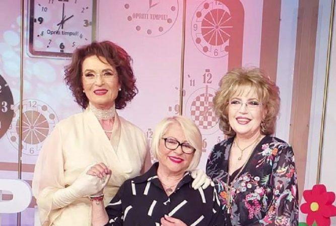 Fotografie de colecție cu Angela Similea, Corina Chiriac și Mirabela Dauer