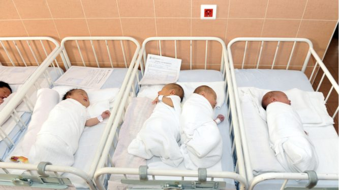 Bebelușii erau suspecţi de infecţii stafilococice.