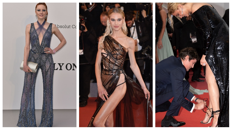 Gafe vestimentare la Cannes