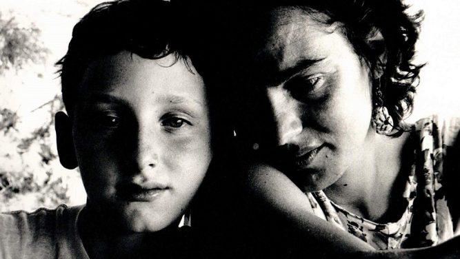Maia Morgenstern si fiul ei