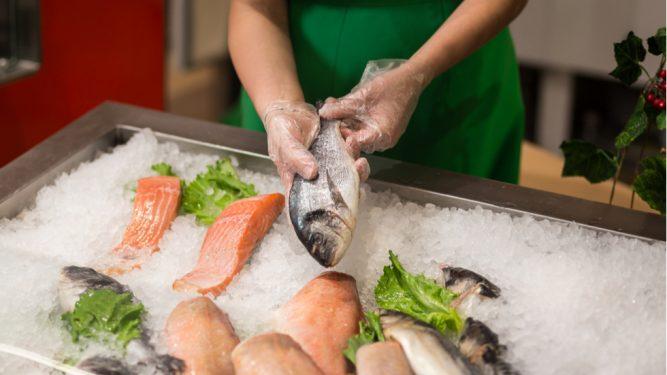 pește contaminat cu mercur în magazine