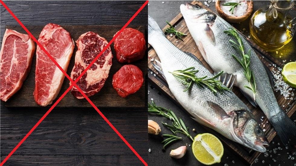 ce se întâmplă atunci când înlocuiești carnea roșie cu peștele