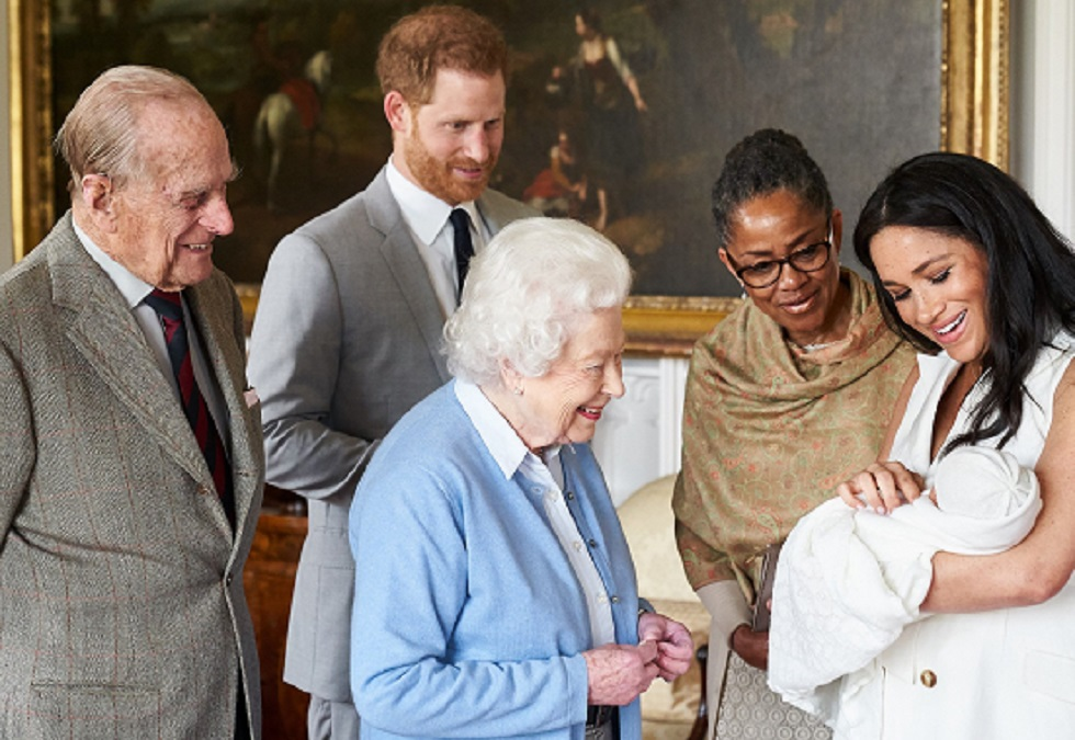 Harry and Meghan welcome their first baby in England