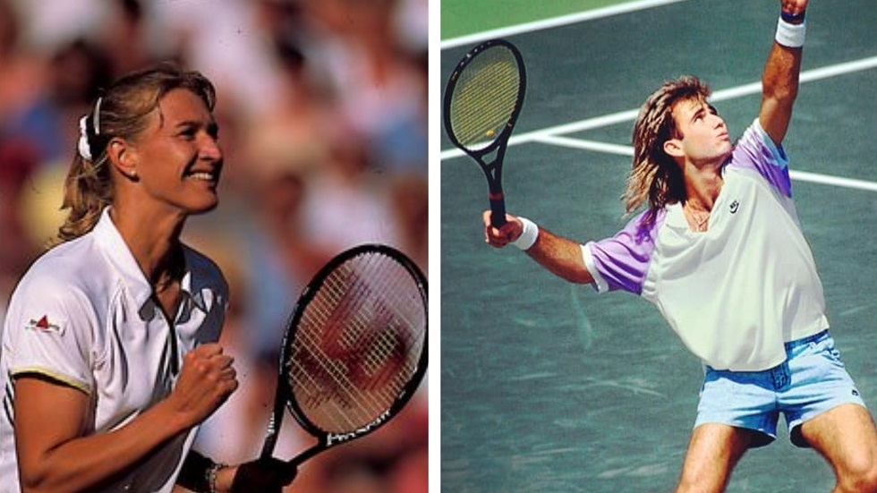 Cum arată azi Steffi Graf și Andre Agassi