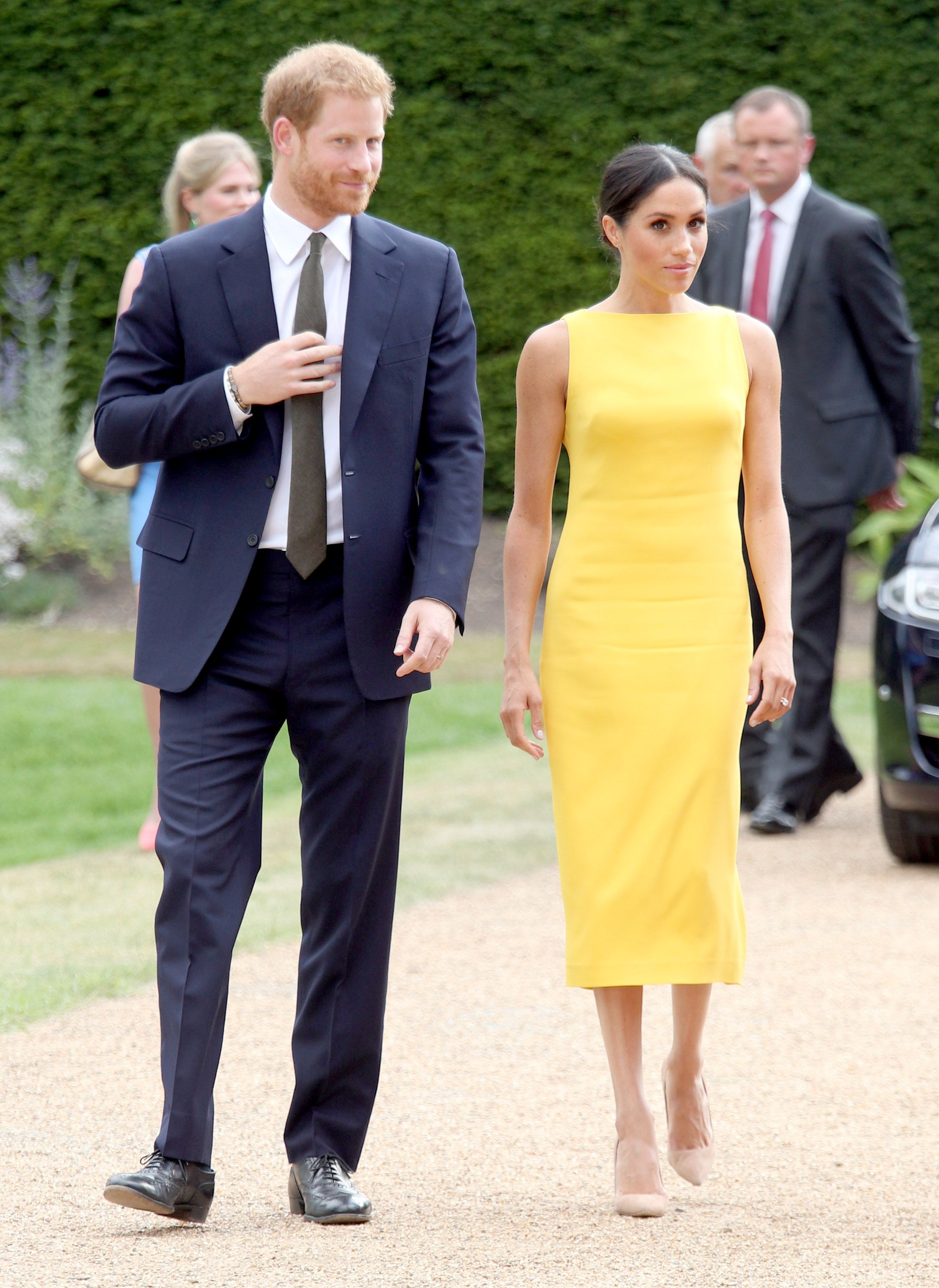 Meghan Markle și Prințul Harry, iulie 2018