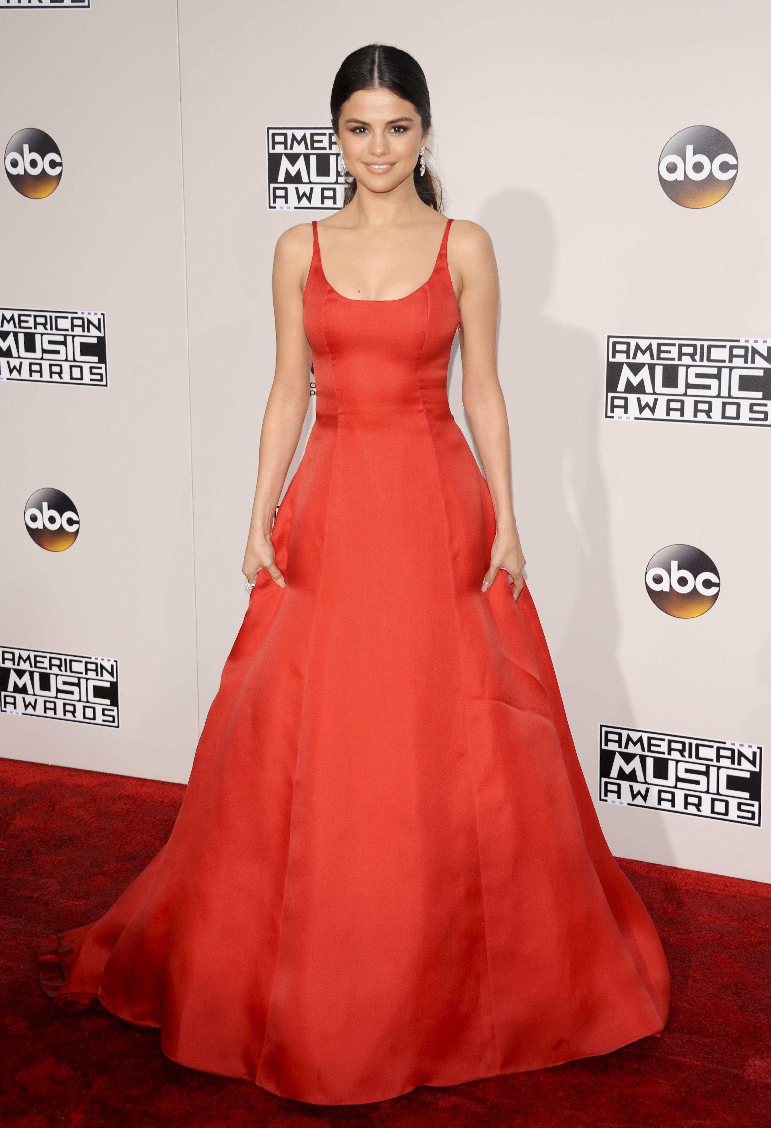 Selena Gomez, American Music Awards 2016