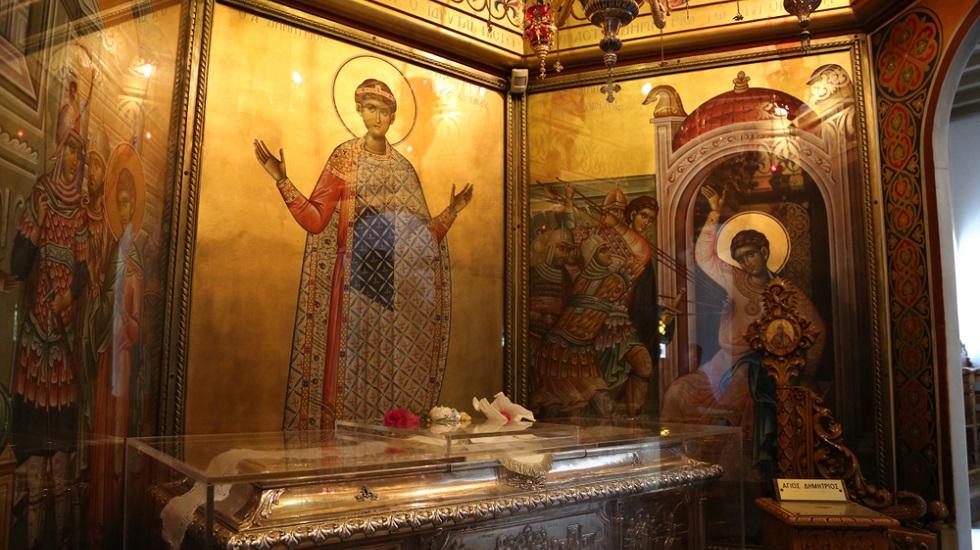 Sfântul Mir al Marelui Mucenic Dimitrie