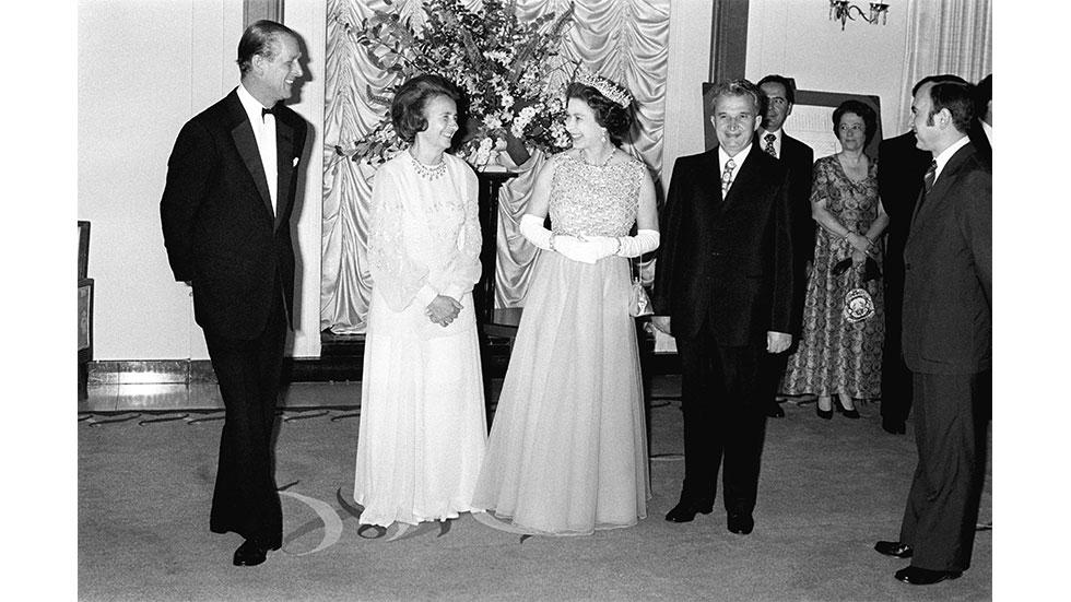 Ceausescu la Buckingham