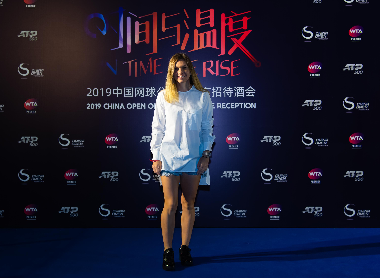 Simona Halep, Premieră China Open 2019