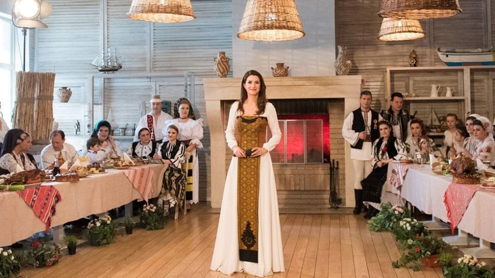 Iuliana Tudor, desertul casei