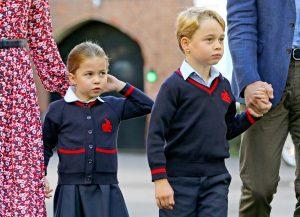 Prințul George și prințesa Charlotte obsesie